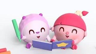 Малышарики - Цирк - серія 155 - Навчальні мультфільми для малят - брати і сестри
