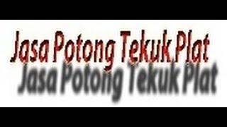 Jasa Potong Tekuk Plat Hitam dan Stainlees