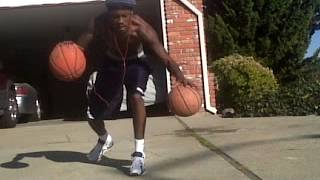 recovering from radius head fracture - front yard basketball workout