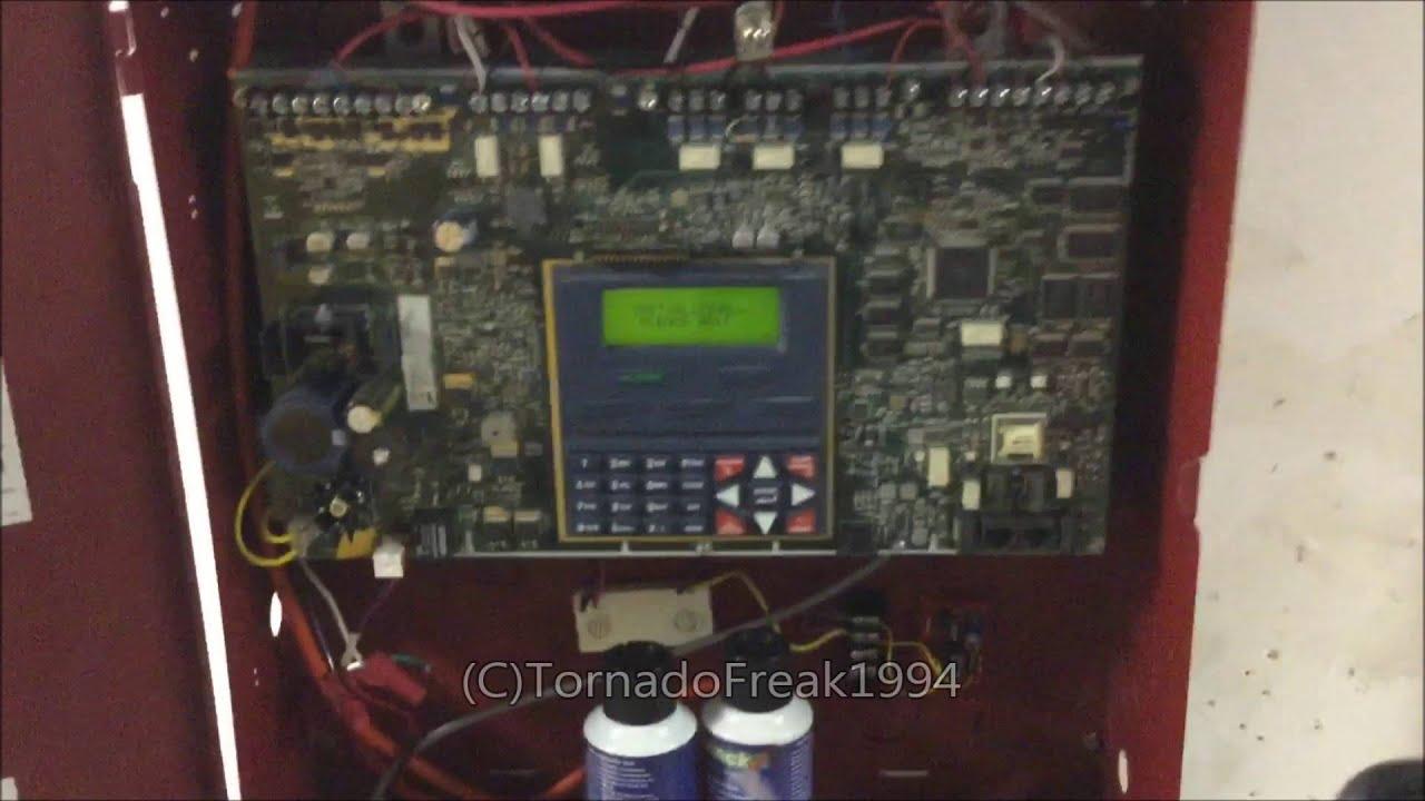 Unimode (ADT) 9050UD Addressable Fire Alarm System Test 18
