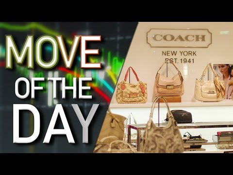 Coach Stock Tumbles on Weak Year-Over-Year Earnings and Revenue