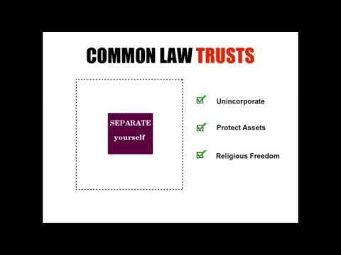 Common Law Trusts