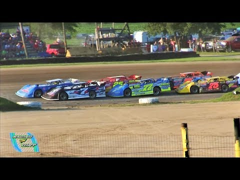 Late Model 2nd Heat 7-15-17 Oakshade Raceway