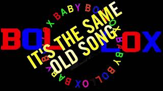 THE FOUR TOPS It's The Same Old Song (BABY BOLLOX)