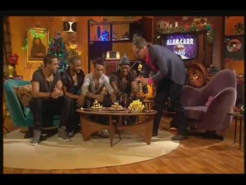 JLS interview on Alan Carr - Part 1