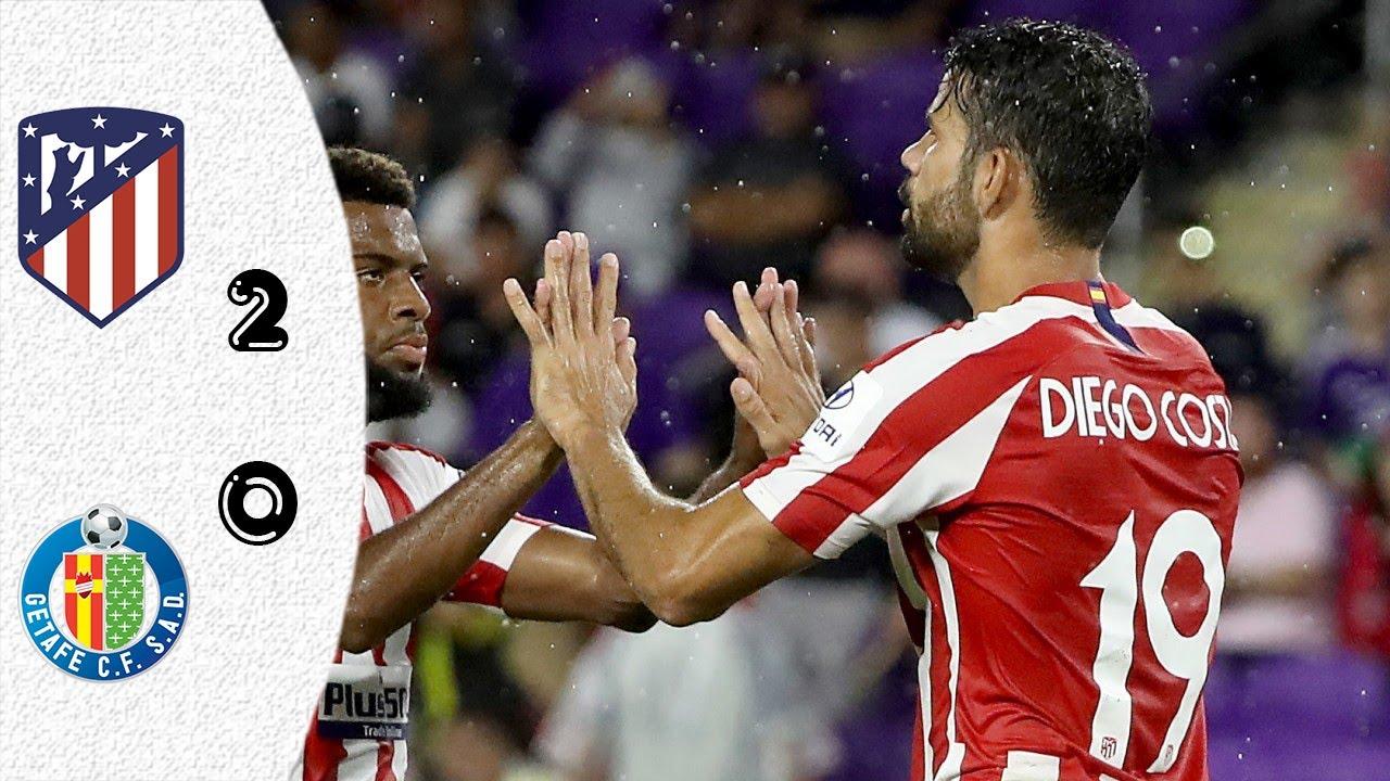 Download Highlights   Atletico Madrid vs Getafe 2-0 · All Goals   Goles & Highlights · Liga Santander   HD