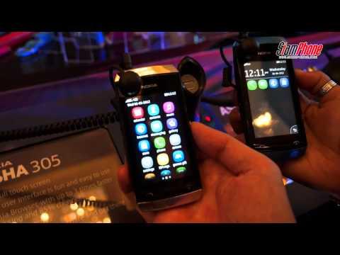 Nokia เปิดตัวฟีเจอร์โฟน 3 รุ่น Asha 305 Asha 306 Asha 311