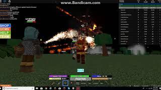 Roblox Field Of Battle (Part 14) WOO demon and got fury stone Season 4 Series