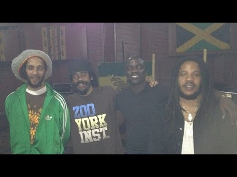 Akon - Just A Man ft. Stephen Marley (Island Stadium) 2015