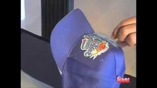 Термоперенос на кепки и бейсболки с помощью пленки Siser(, 2013-02-01T15:54:03.000Z)