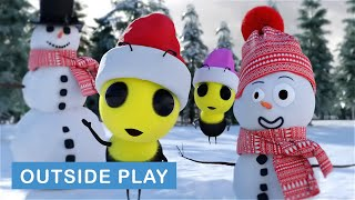 Benny & Bella Build a Snowman | Benny the Bee