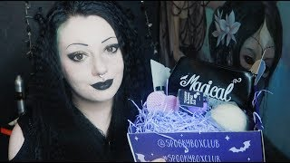 Spooky Box Club Glamour Ghoul Unboxing! | Toxic Tears
