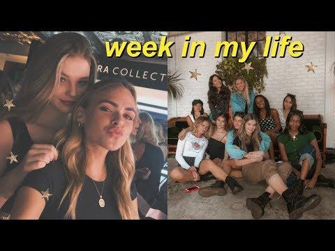 work week in my life & GRWM!