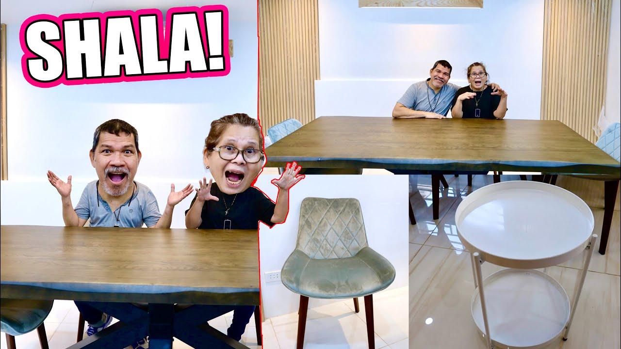FINALLY! TAPOS NA ANG PINAPAGAWANG BAHAY (MAY BAGONG DINING TABLE & DINING CHAIR!!!)