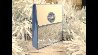 Sachet Style Gift Box With Magnetic Closure   Using Products By Chloe Endean