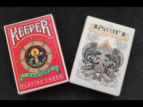 Крапленые карты часть 1/3: Обзор колод Keeper и Aquila