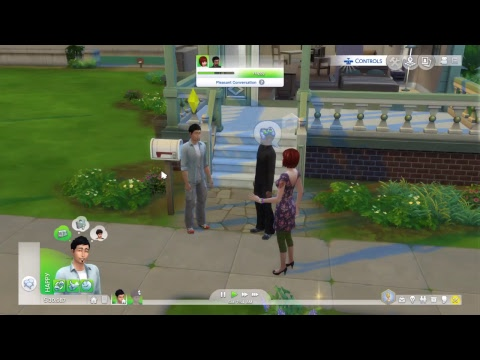Katmeister's SIMS4 Chat Lounge01: Building Youtube Channel Creator Community