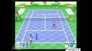 Sega Sports Tennis PlayStation 2 Gameplay_2002_07_22_1