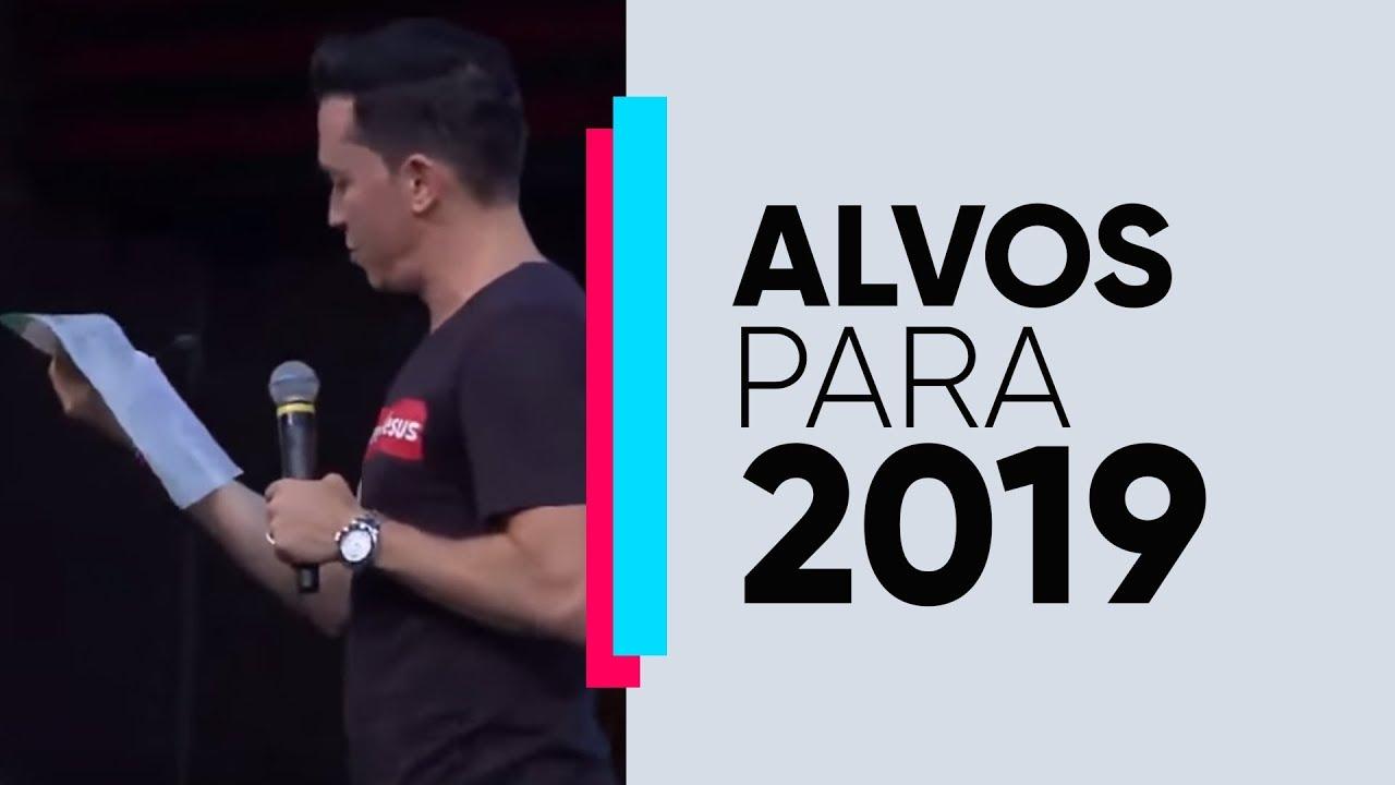 Alvo para 2019 | Pr. Lucinho | 29/12/2018