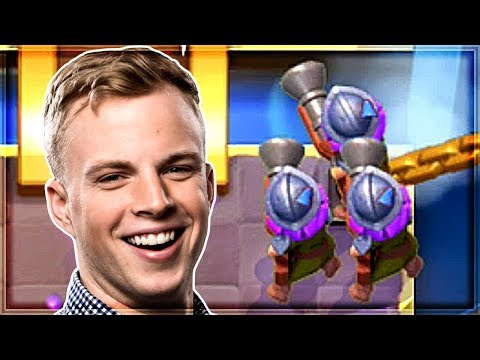 Clash Royale - NEW THREE MUSKETEERS DECK!