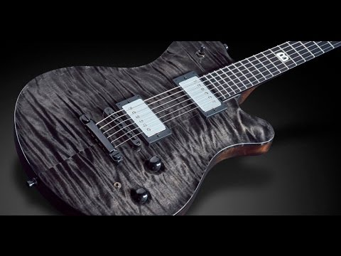 Framus Masterbuilt Custom Shop - Panthera Supreme Nirvana black transparent satin finish #16-3124