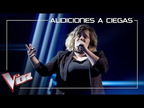 Iria Regueiro canta 'God is a woman' | Audiciones a ciegas | La Voz Antena 3 2019
