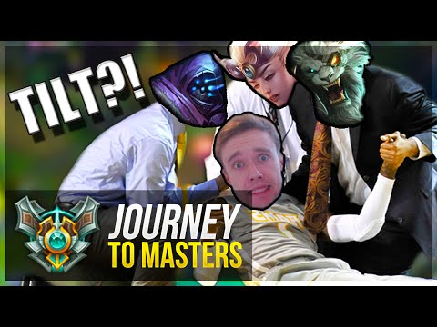 ONE OF THOSE GAMES... - Journey To Masters #15 - League of Legends