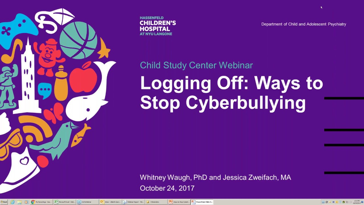 Logging Off: Ways to Stop Cyberbullying