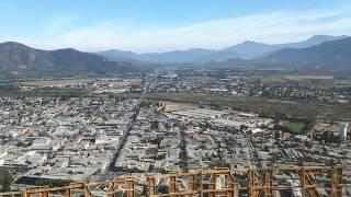 Ciudad de La Calera desde el Cerro, Chile