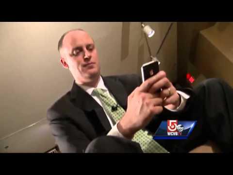 Vice President congratulates wrong Marty Walsh