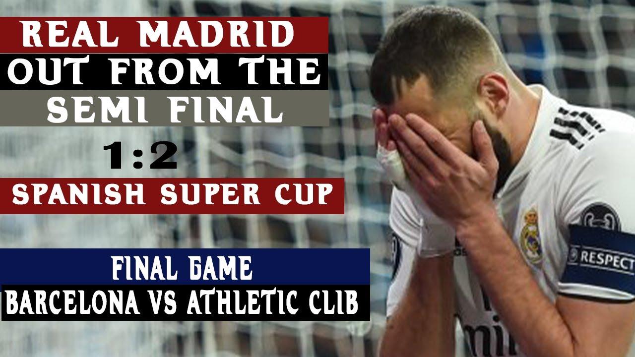 Real Madrid vs. Athletic Bilbao - Football Match Report - January 14 ...