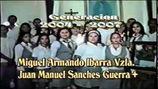 Graduación COBAES 2004-2007 (Anarosa, Angelica, etc)