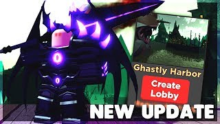 *NEW* GHASTLY HARBOR MAP, NEW ARMOR, ABILITIES & MORE Dungeon Quest Update (ROBLOX)