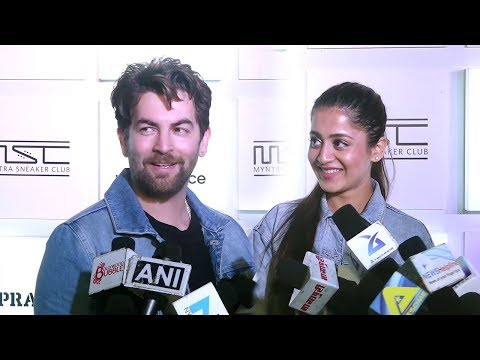 Neil Nitin Mukesh & Wife Rukmini Sahay's FIRST  Together In Public