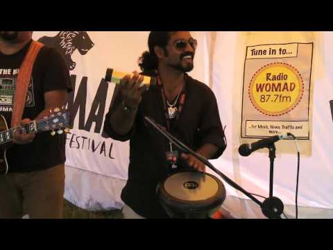 Womad 2012: Raghu Dixit performs Mysore se Aayi