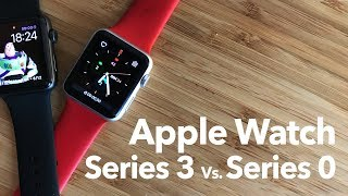 Apple watch series 3 Vs. Original Apple watch (series 0)