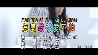 崔偉立&孫藝琪 | 怎麼愛都愛不夠 | (DJ版) | (1080P)KTV