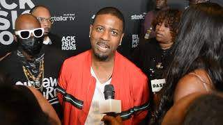 DJ Kay Gee Naughty By Nature Red Carpet @ Black Music Honors DreamSpireTV
