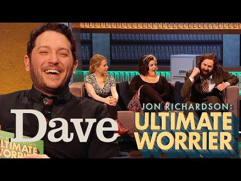 Jon Richardson: Ultimate Worrier Series 2, Episode 1 - The Self - British Comedy Guide