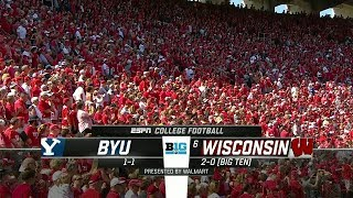 2018-09-15 Brigham Young Cougars vs Wisconsin Badgers