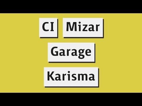Ci mizar garage karisma 2014 youtube for Mizar youtube