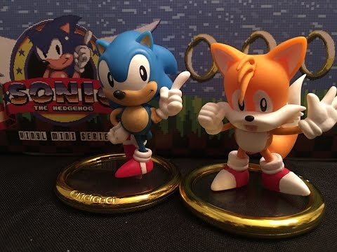 Sonic The Hedgehog Kidrobot Vinyl Figures Full Case Unboxing Youtube
