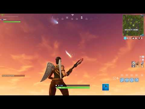 Fortnite April 27 New Proof On The Meteor Comets Spotted