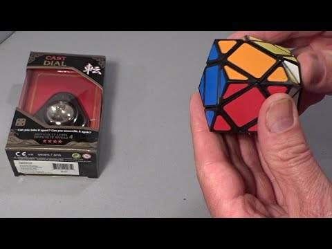 Puzzle Master - Cast Dial & Rhombic Dodecahedron puzzles