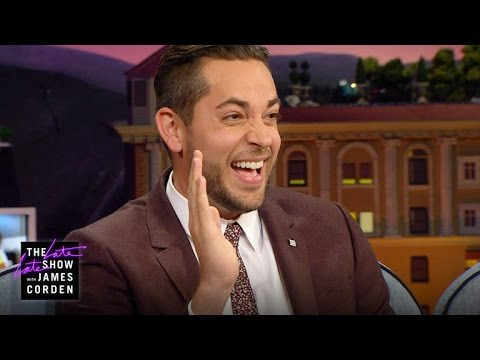 Zachary Levi Throws a Mean Party