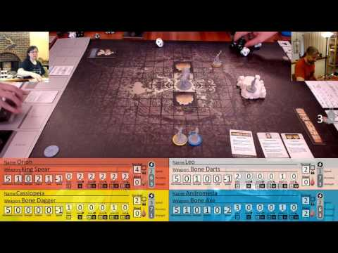 Settlement #4.0 Part 7 -  Kingdom Death Monster - Hunt White Lion - People of the Sun