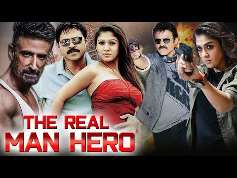 The Real Man Hero Full Movie | Venkatesh Action Movie | Nayanthara | New Released Hindi Dubbed Movie