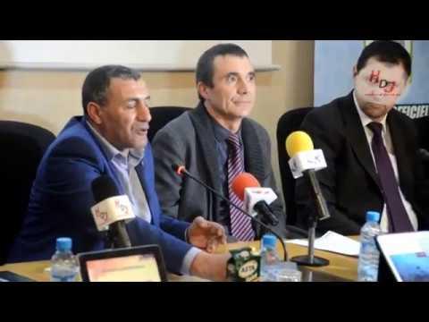 conférence de  presse Marathon 10 km  Casablanca