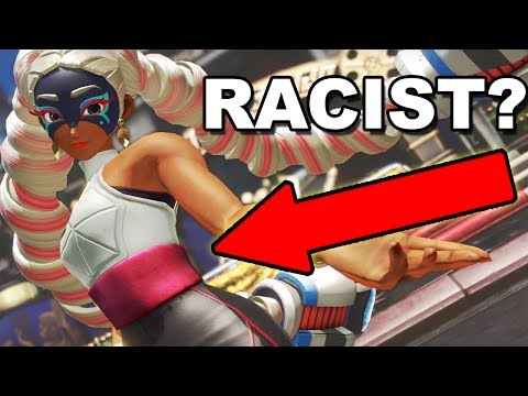 Is NINTENDO Racist? Arms Gets Criticism By Media