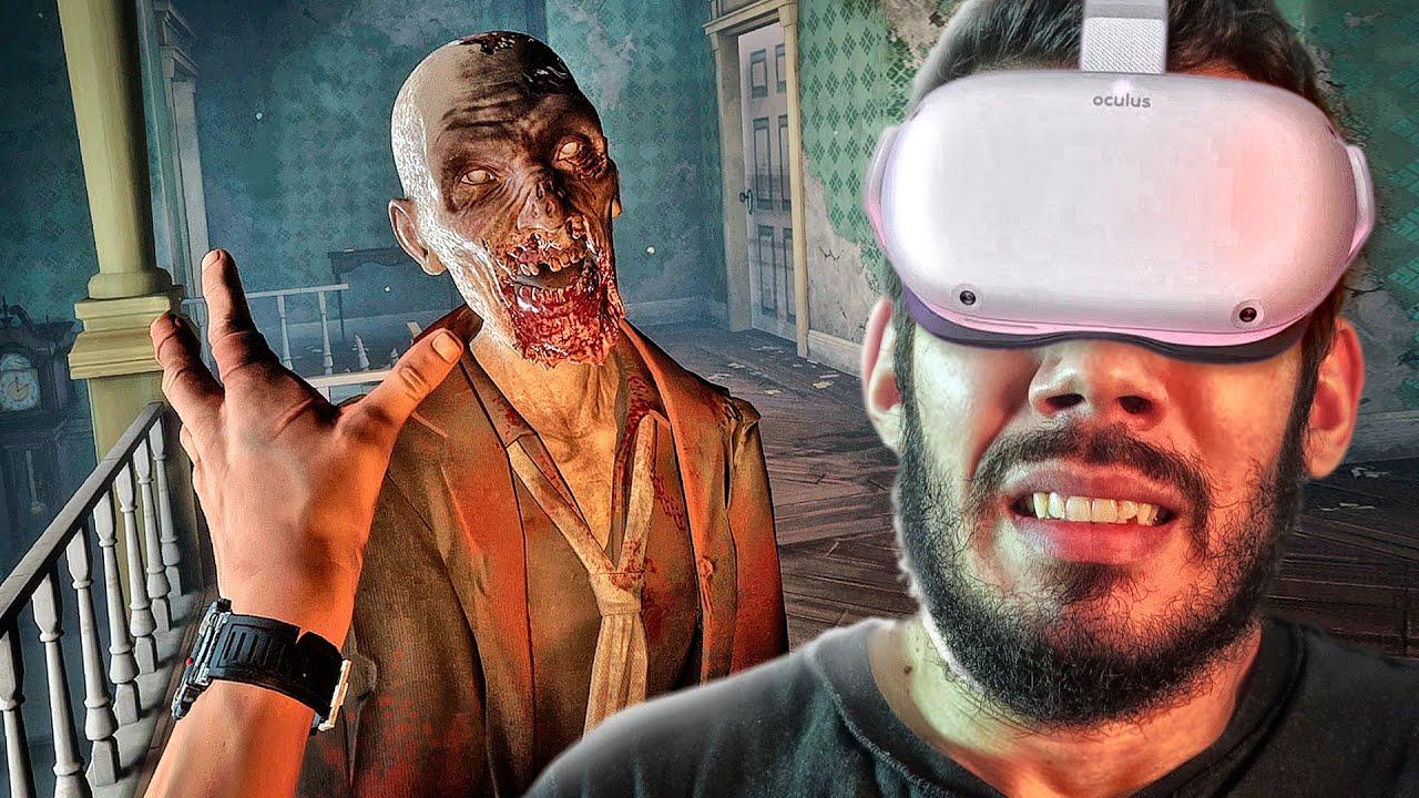 THE WALKING DEAD Saints & Sinners - O Melhor Jogo de TWD em Realidade Virtual | O INÍCIO em PTBR